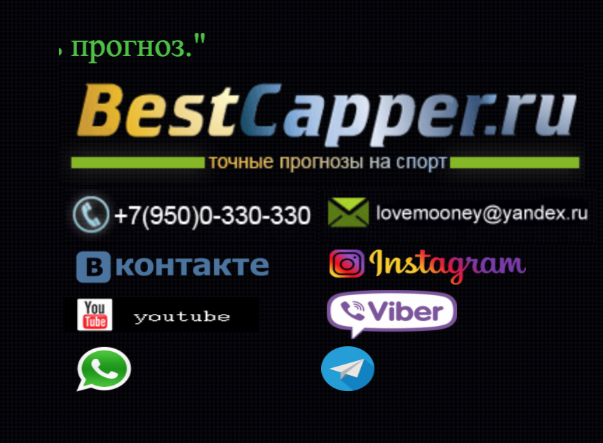 Контакты на сайте Эдуарда Кварацхелии BestCapper (Bесткаппер)