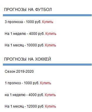 Ценовая политика Ставка сити (Stavkacity)