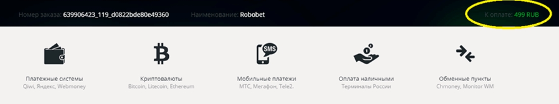 Стоимость прогноза на точный счет от RoboBET