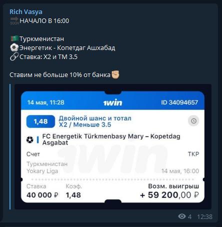 Rich Vasya статистика